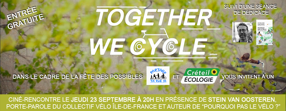 Together we cycle